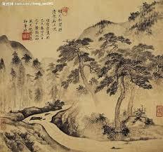 Image result for thơ đường qua tranh sơn thủy