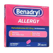 Benadryl Allergy Ultratabs Tablets | Walgreens
