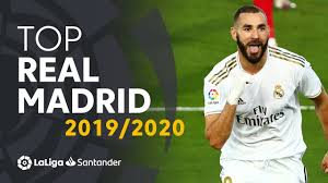 TOP 10 GOLES <b>Real Madrid</b> LaLiga Santander <b>2019/2020</b> - YouTube