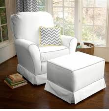 Modern Rocking Baby Nursery Rockers Chairs White Color Elegant Ideas  Perfect Decorating Wooden Sample