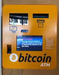 A bitcoin atm looks like an ordinary atm, but it doesn't work completely in the same way, as you can't physically withdraw bitcoin, because it's a digital currency. Bitcoin Atm Banking How To Find A Bitcoin Friendly Bank Blog Coin Atm Radar