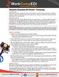 Automatic Secondary Bill Review Workcompedi