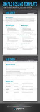 Gallery Of 1000 Ideas About Simple Resume On Pinterest Resume