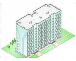 pgs diplom ru дипломные проекты по многоэтажным жилым домам  Проект №2 4 Жилой дом на 72 квартиры в г Кемерово