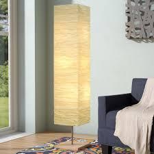 Column Floor Lamp Delectable Wrought Studio Toombs 32 Column Floor Lamp Reviews Wayfair