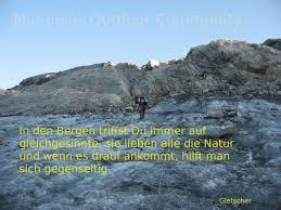 In Den Bergen Spruch Schesaplana Gletscher Outdoor Community
