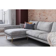 mid century modern sectional sofa. Brilliant Century Shop Hayley Grey Upholstered Mid Century Modern Sectional Sofa  Free  Shipping Today Overstockcom 23136568 On