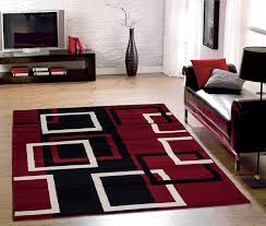 great black and red contemporary area rugs nice image of grey carpet bedroom plush for living room rug s