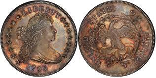 1795 1 Centered Dr Bust Regular Strike Draped Bust Dollar