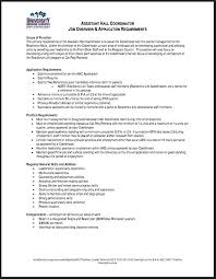Resident Assistant Resume Template