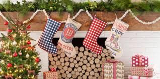 Amazing christmas fireplace mantel decoration ideas Stockings Christmas Mantel Decorations Country Living Magazine 56 Christmas Mantel Decorations Ideas For Holiday Fireplace Mantel