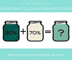 Fusion Mineral Paint Color Chart April Fusion Custom Colour Competition Fusion Mineral Paint