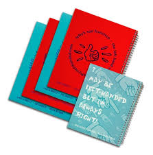 Left Handed Spiral Wide Ruled Notebooks 4 Graph Paper Notebook 1