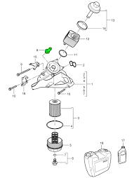 porsche cayenne engine oil pressure switch  engine oil pressure switch porsche 955 957 958 cayenne