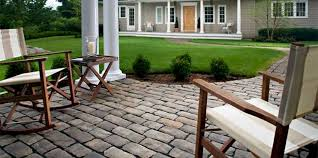 paver patio hardscaping
