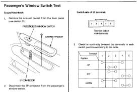 power windows not working electrical problem clubcivic com in the 5p wire harness connector check whether terminal 1 grn blk wire has voltage the key in on ii also do the continuity tests to see