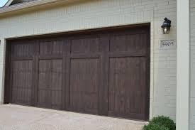 brown garage doorsFantastic Brown Garage Doors With Windows with Village Homes Wood