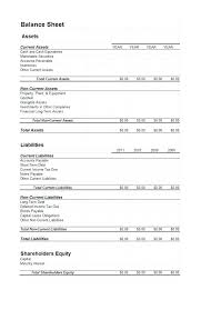 Simple Personal Balance Sheet Example Simple Balance Sheet Simple Balance Sheet Template Free