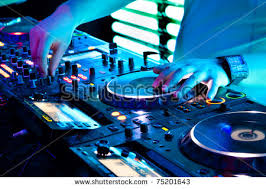 sound equipment stock photos royalty images vectors dj mixes the track in the nightclub at a party