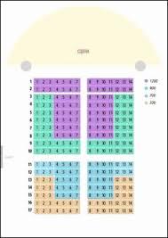 Fitzgerald Theater Seating Chart Un Seating Chart Bedowntowndaytona Com