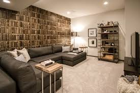 Small Picture Basement Development Contemporary Basement Calgary by