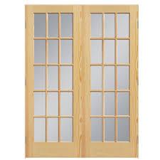 interior clear glass door. ReliaBilt Classics Solid Core Clear Glass Pine Slab Interior Door (Common: 60-in