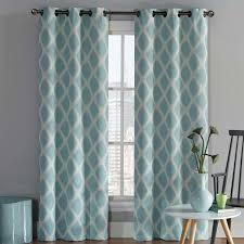 coley geometric room darkening grommet curtain panels