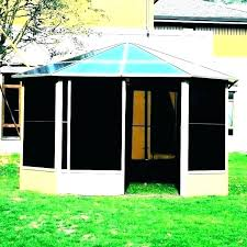 screen house with floor screened gazebo tent wooden kits outdoor te