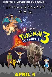 Pokemon 3 The Movie Fan Poster by nickthetrex on DeviantArt