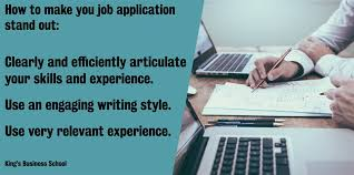 Tips For Completing Application Forms How To Get Your Job Application And Cover Letter Noticed Kings