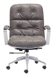 white luxury office chair. America Luxury Contemporary Urban Industrial Antique Vintage Style Work  Home Office Chair, Grey - Faux White Luxury Office Chair F