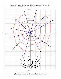 9130d16a0e5fd9bbcf05ca1aa41337d7 la arte cartesiano de halloween ara�a hoja de ejercicio de on simplifying rational expressions worksheet answer key