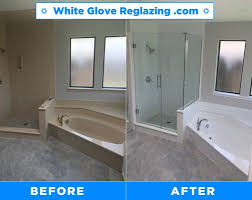 photo of white glove bathtub and tile reglazing staten island ny united states