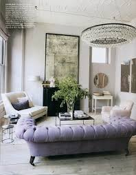 luxury lavender tufted sofa aged mirror interior design living room design decorating design decorating before and after