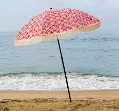 beach umbrella. Contemporary Umbrella Thalia Beach Umbrella U2022 100 UV Protection To U