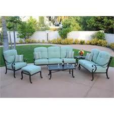 patio lounge sets. Athena Cast Aluminum Outdoor Patio Lounge Set Sets G