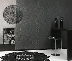 Small Picture Black and White Wallpaper Interior Decor Interior Design