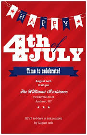 4th Of July Invitation Announcements Vistaprint Summer Party