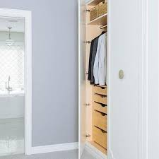 wardrobe closets with pull out drawers