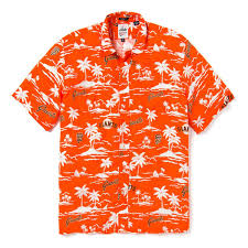 Reyn Spooner Size Chart Reyn Spooner Mlb Vintage Rayon San Francisco Giants Camp Shirt Orange
