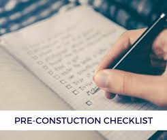 Contractor Checklist What Your Contractor Wants You To Know A Pre Construction Checklist