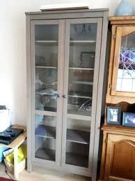 glass door cabinet in thumbnail 1 ikea hemnes canada
