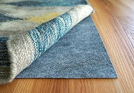 new rug pad usa rugpro 2 5x8 feet ultra low profile non slip area rug pads for