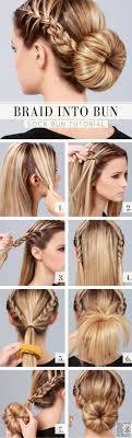 How To Make Cool Hairstyle best 25 ballerina hair ideas braided bun tutorials 8501 by stevesalt.us
