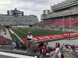 Osu Stadium Seating Chart Rows Ohio Stadium Section 8a Home Of Ohio State Buckeyes