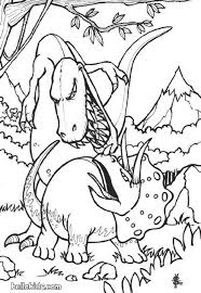 Small Picture Dinosaurs fights coloring pages Hellokidscom