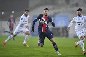 ПСЖ – Марсель: обзор и счет матча 13 января 2021