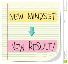 new mindset new result stock vector image of illustration  new mindset new result