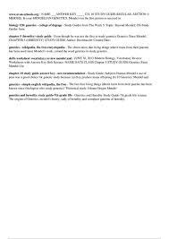 Monohybrid Cross Problems Worksheet With Answers - Accafkenya.org