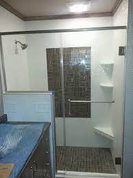 glass shower design. Diamond Pattern Tile Shower Glass Design E